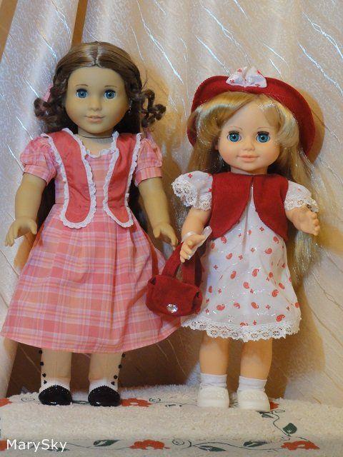 """Наши Аннушки от фабрики """"Весна"""". Сравнение с Gotz, Paola Reina, American Girl и фейсинками. / Другие интересные игровые куклы для девочек / Бэйбики. Куклы фото. Одежда для кукол"""