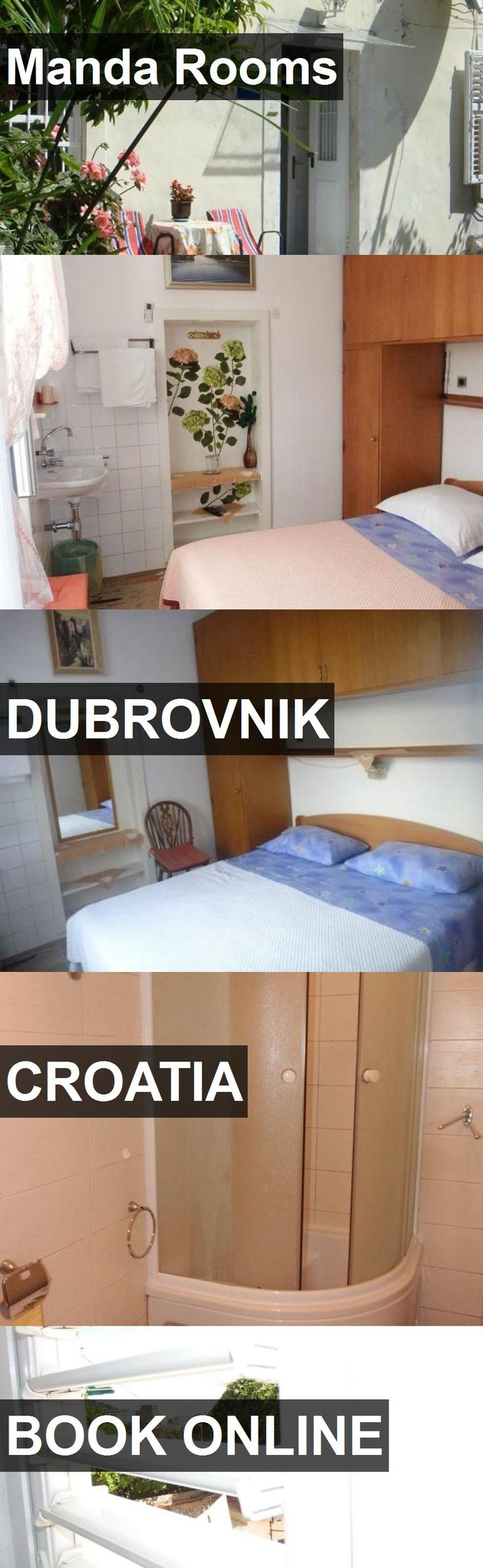 Hotel Manda Rooms in Dubrovnik, Croatia. For more information, photos, reviews and best prices please follow the link. #Croatia #Dubrovnik #travel #vacation #hotel