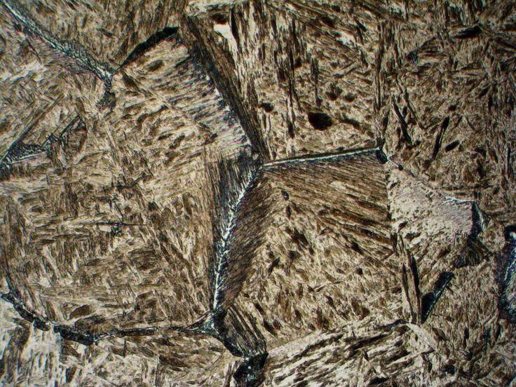 Martensite and bainite by Metalografia on DeviantArt