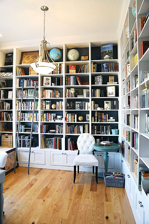 Wall Of Bookshelves best 25+ white bookshelves ideas on pinterest | living room