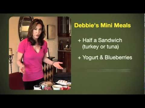 Debbie Siebers healthy food tips. I use her workout videos and love them ( as much as you can love a workout video. uuggh)