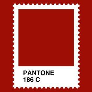 Camiseta Pantone 186. Chica - ateneupopular