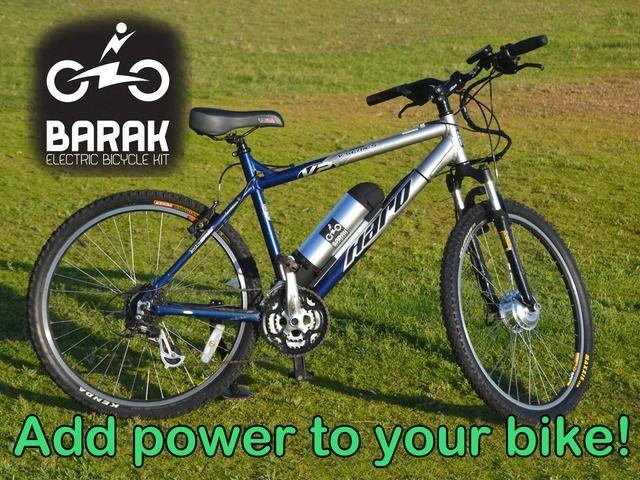 Barak Electric Bicycle Conversion Kit - Electrify Your Bike! by Micah Toll — Kickstarter