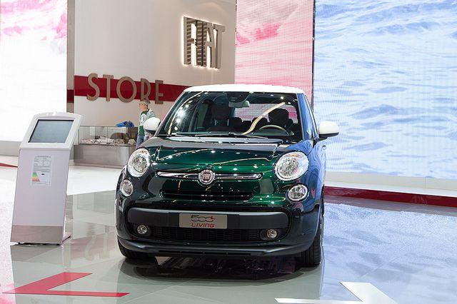 #Fiat #500LLiving at 65th International Motor Show IAA 2013 in Frankfurt