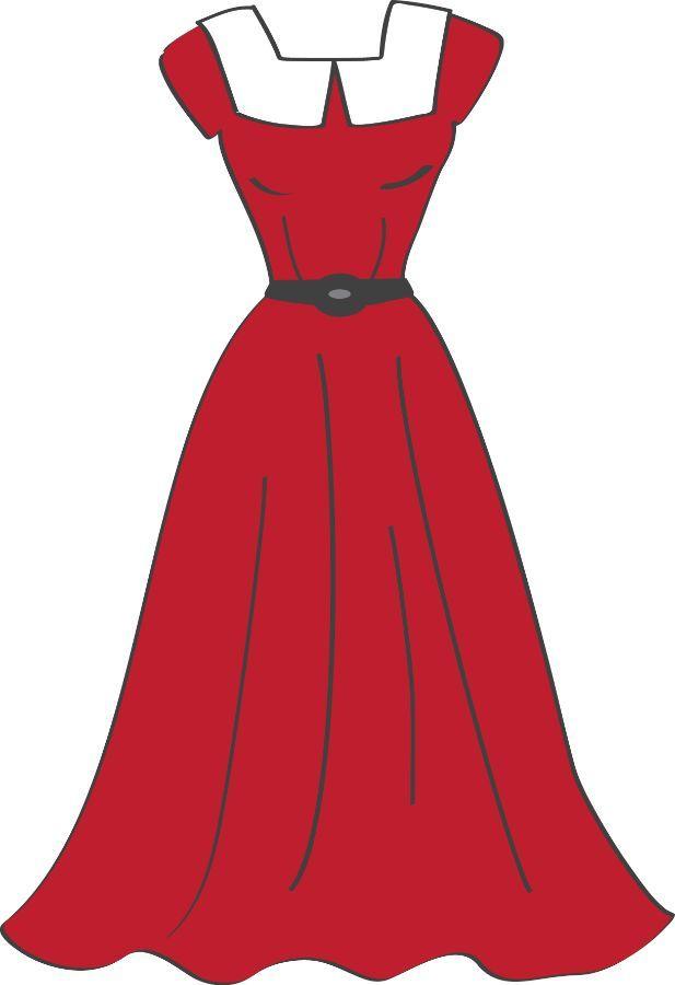 a dress clipart