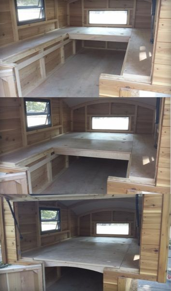 Handmade Micro Truck Bed Camper for $3700