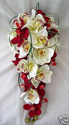 Front view of bouquet