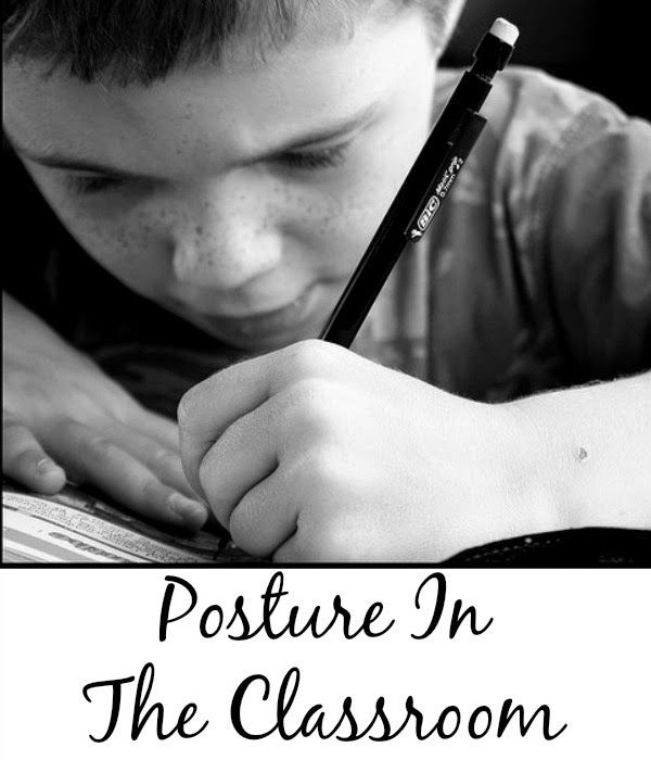 Posture In The Classroom | Minds in Bloom