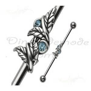 Beautiful industrial piercing!