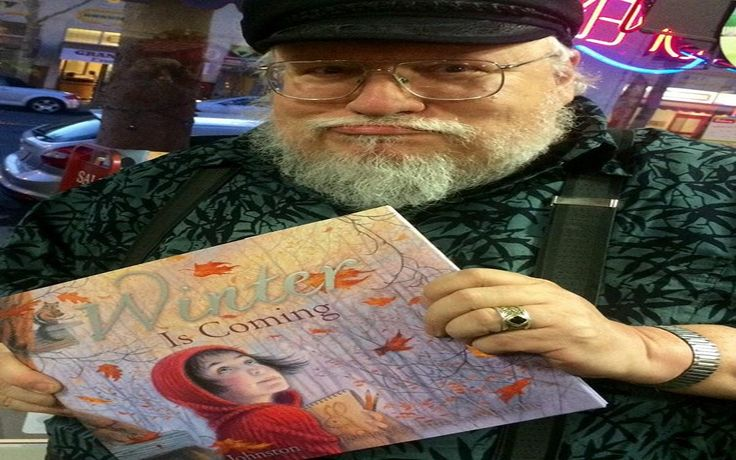 Winds of Winter update: GRRM Teases New Details - http://www.gackhollywood.com/2016/12/winds-of-winter-update-grrm-teases-new-details/