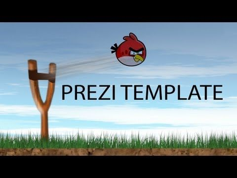 Complete Prezi template of angry birds. Add you text or images to any place of the level. Add extra information to the level complete screen that fades in with an animation. Note: the elements like boxes and rocks are not flash elements, they are grouped together and cannot be moved separately.