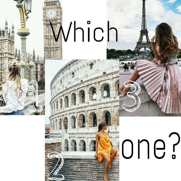 Which city is your favorate? Also...have you ever been to London Rome or Paris? Let us know in the comments #paris #london #rome #berlin #amsterdam #brussel #milan #petra #whichone #nemgirls #city #newyork #citytrip