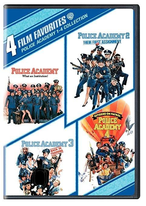 Police Academy 1-4 Collection: 4 Film Favorites (DVD / Full Screen / WS) Steve Guttenberg