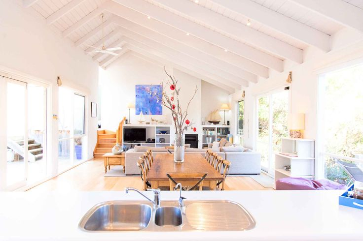 Beautiful Blairgowrie beach house on the Mornington Peninsula. Your very own beach holiday rental all year round. Photography courtesy of LovethePen