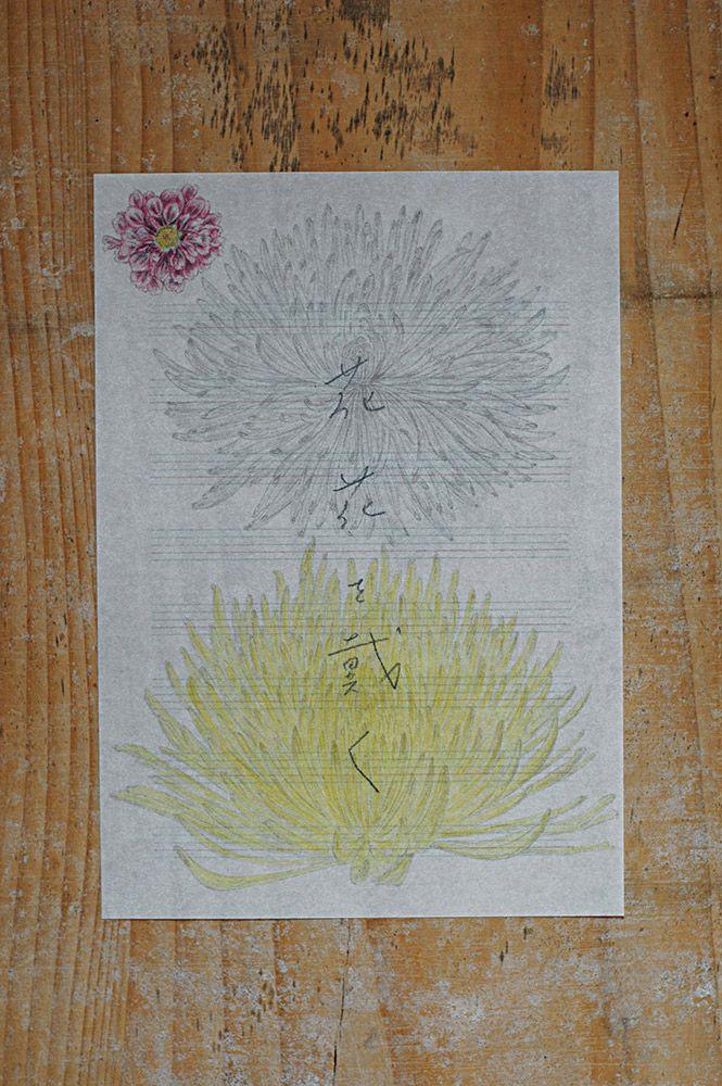 倉敷意匠 赤飯堂 季節の手紙セット(秋)