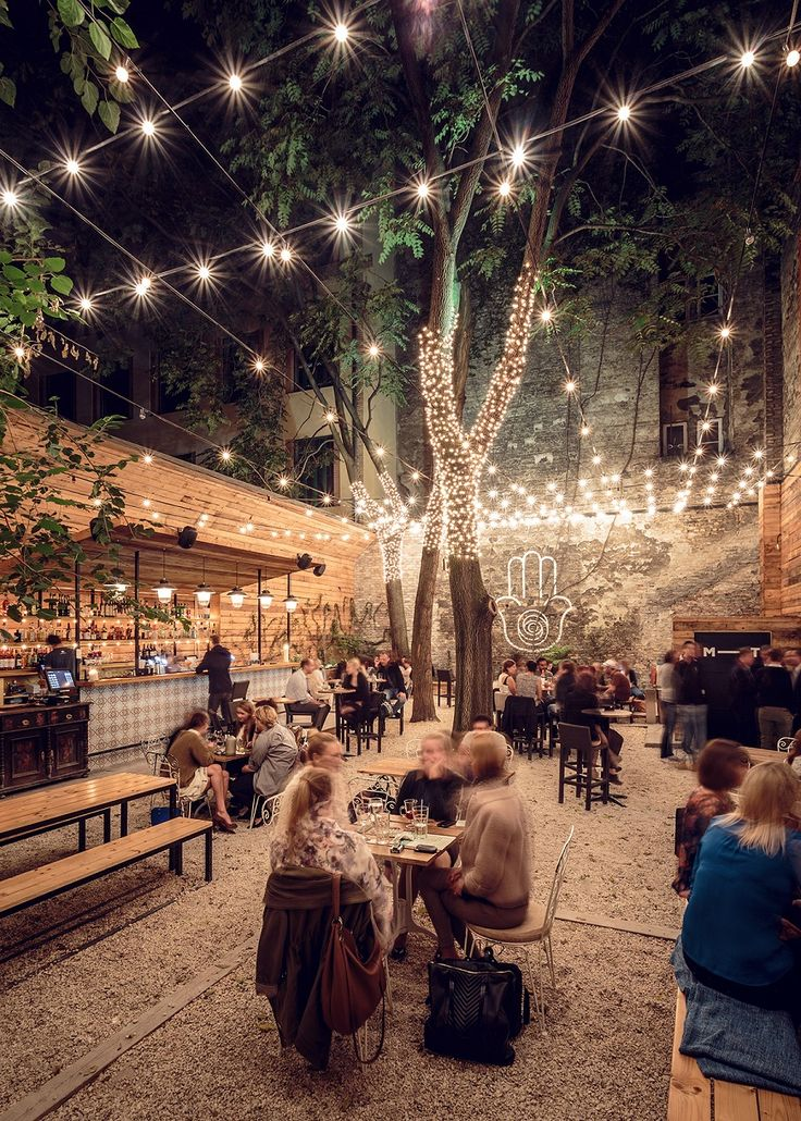 """Ruin-Pub """"Mazel Tov"""" is an open-minded place, a gastro-cultural venue in Budapest."""