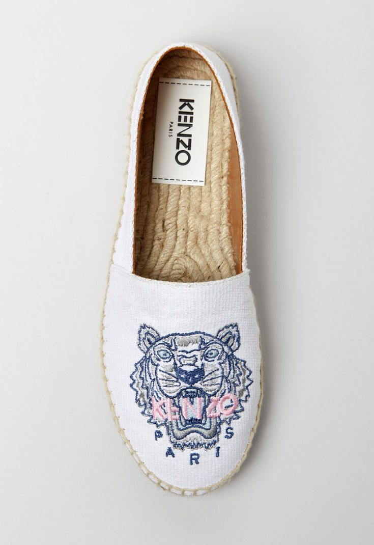 8656c33d WHITE Tiger Espadrilles for women KENZO | Wishlist 2018 in 2019 ...