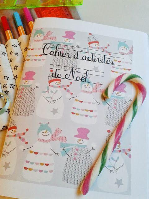 DIY by M.: Cahier d'activités de Noël #printable inside