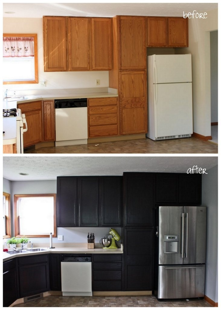 Top 25+ Best Stain Cabinets Ideas On Pinterest