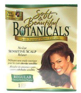 Soft & Beautiful Botanicals Relaxer Kit Regular (Case of 6) by Soft & Beautiful. $44.19