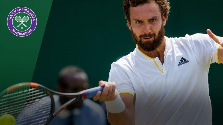 Juan Martin del Potro v Ernests Gulbis highlights - Wimbledon 2017 secon...