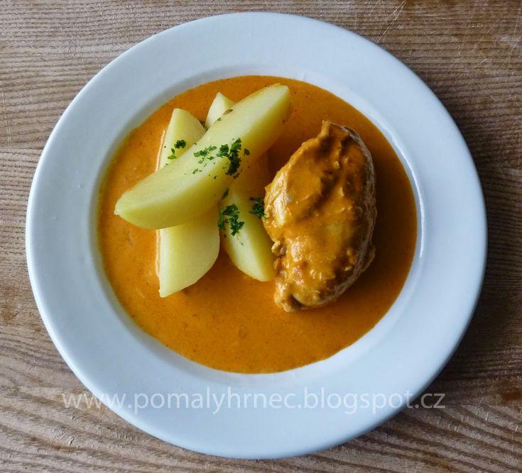 Pomalý hrnec: Kuře na paprice v pomalém hrnci