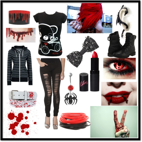 17 Best images about Emo Scene Punkand Goth images on Pinterest | Scene hair Emo scene and ...