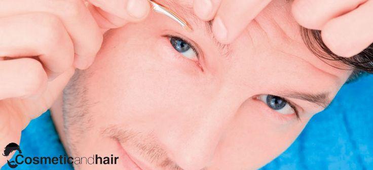 Consejos de #depilación masculina, las cejas. #bellezamasculina