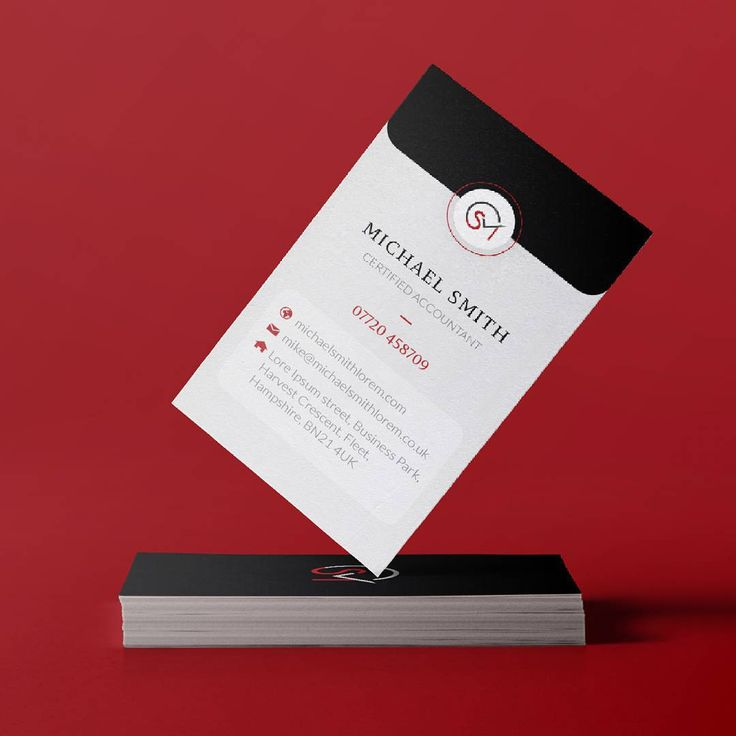 A business card for an accountant, following the concept of an envelope. #businesscarddesign #graphicdesign #card #accountant #design #envelopedesign #brandingdesign #identity #personallogo #eromagencyprojects