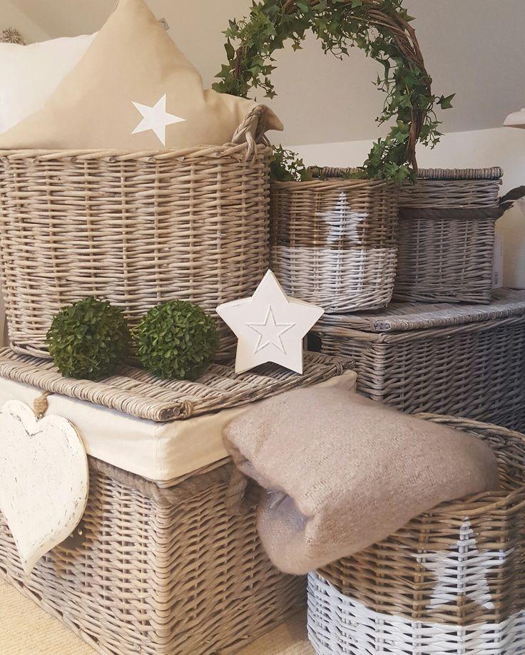 Star wicker storage baskets  Stars....