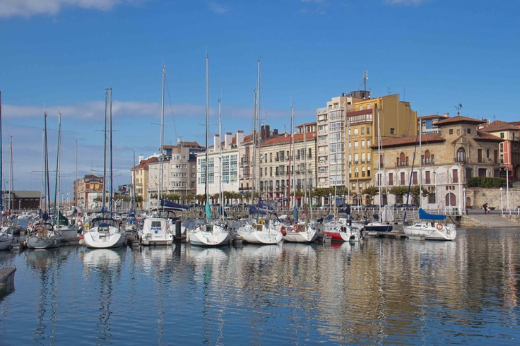 Gijon harbour