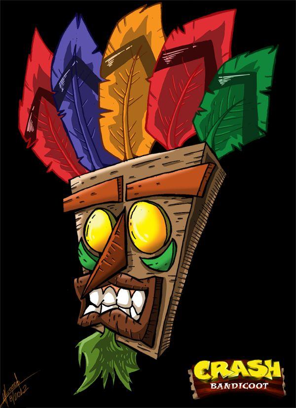 Crash Bandicoot- Aku Aku by SuperManosBros