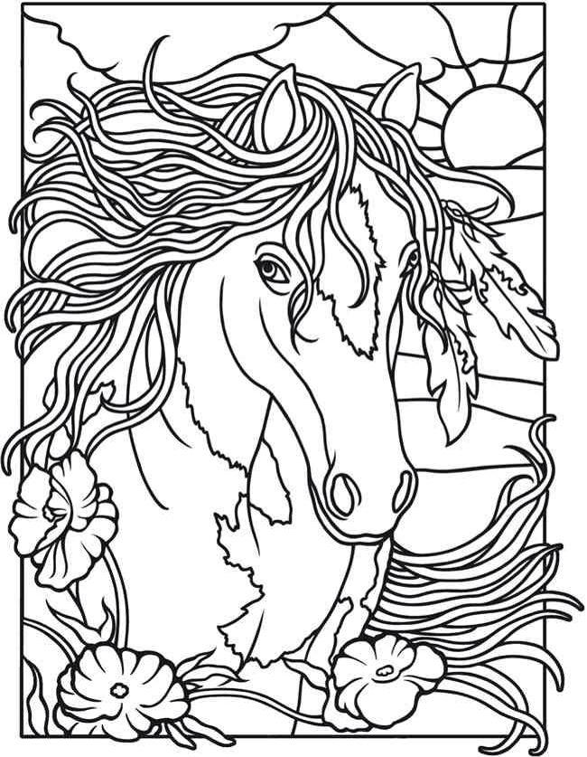 mejores 29 imágenes de dibujos  caballos en pinterest