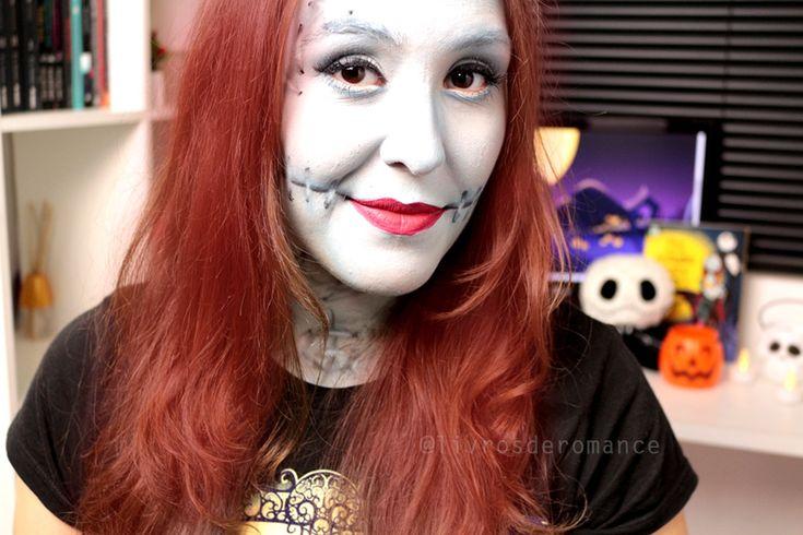 maquiagem make up halloween sally o estranho mundo de jack4