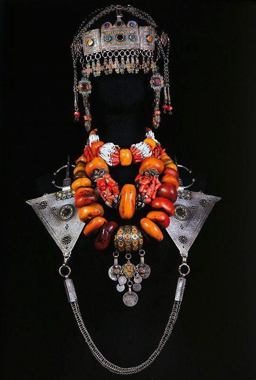 Morocco | Ornamentation from the Souss region, Southwestern Morocco | ©Nicolas Mathéus/Musée Berbère
