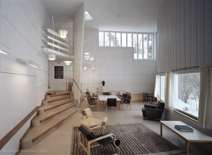 alvar aalto's studio (helsinki-munkkiniemi) / photo by rauno träskelin (alvar aalto museum), 2005