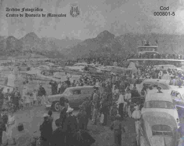 Inauguración del aeropuerto La Nubia, julio 15 de 1956.