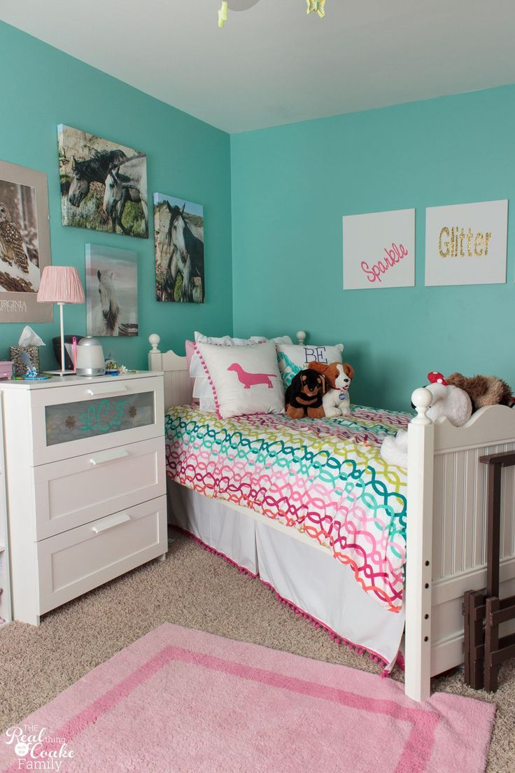 Cute Bedroom Ideas for Tween Girls | Kids | Girls bedroom ... on Pretty Room Decor For Girl  id=23389