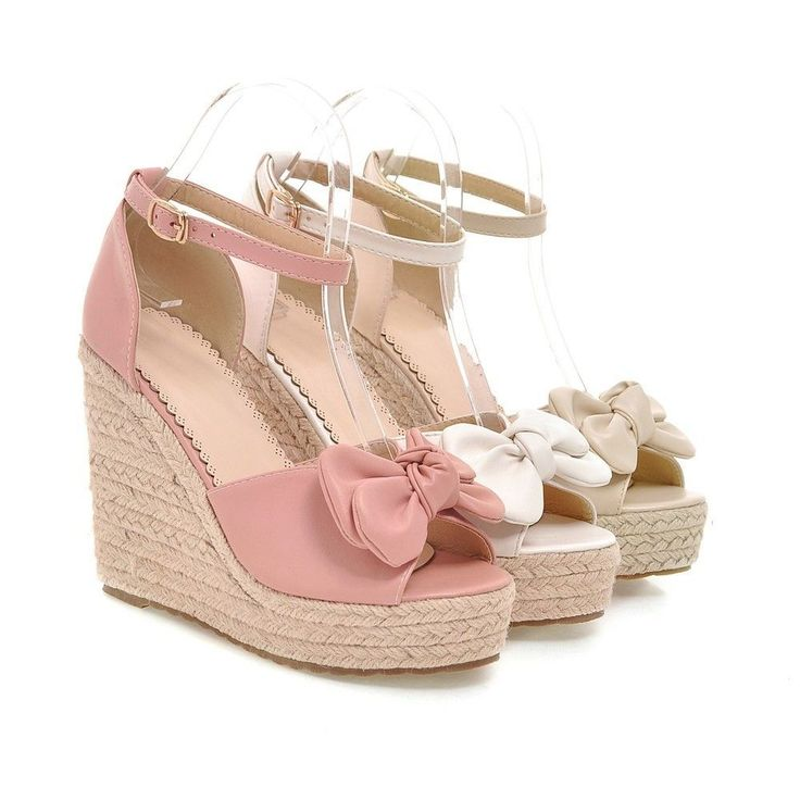 Heels: approx 11.5 cm Platform: approx 3.5 cm Color: Beige, Pink, White Size: US 3, 4, 5, 6, 7, 8 (All Measurement In Cm And Please Note 1cm=0.39inch) Note:Use Size Us 5 As Measurement Standard, Error