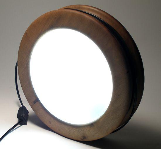Bucket lamp + other woodturning projects | Alejandro Palandjoglou