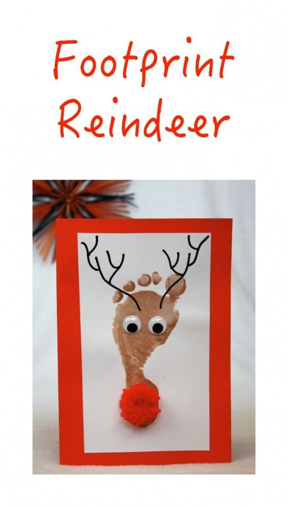 The cutest Christmas Craft around! Kids love doing this - and what a great gift card idea!
