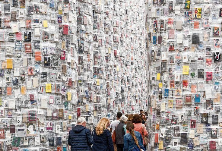 Marta Minujín, 'The Parthenon of Books', Documenta 14 in Kassel, 2017