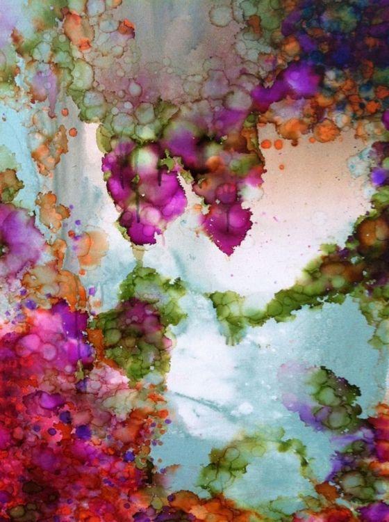 Iris - Full-frontal image, unframed