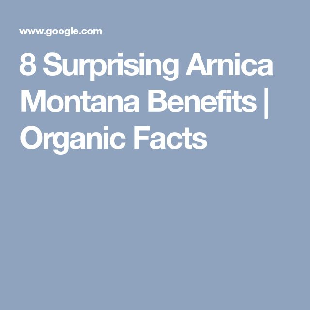 8 Surprising Arnica Montana Benefits | Organic Facts
