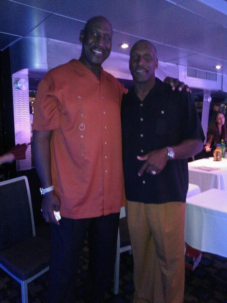 Former NFL Star Otis Wilson & NBA Player Darryl Watkins