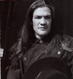 Leland chapman in vogue Italia. He looks good w/his hair down & I normally HATE guys w/long hair! But Leland can pull it off WELL!