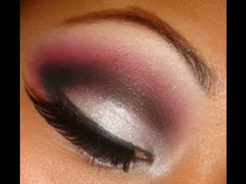 auburn and white smokey eye: Eye Makeup, Smokey Eye