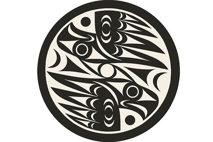 Tapis noirs et blancs :Tapis Natural Vision, LessLIE (Creative Matters).