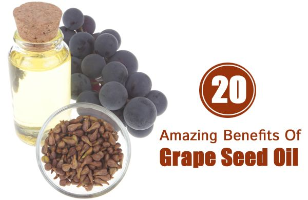 "Love my grape seed oil. ""20 Amazing Benefits Of Grape Seed Oil For Skin, Hair & Health."""