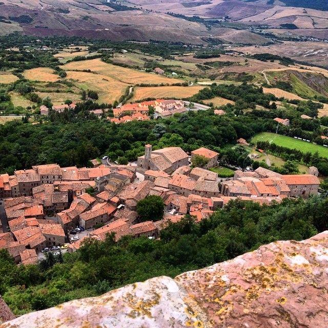 Panorama - Radicofani | #siena #valdorcia #toscana #italia #tuscany #italy